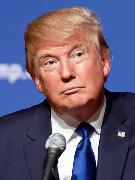 Donald Trump – The 45th President of the United States of America.