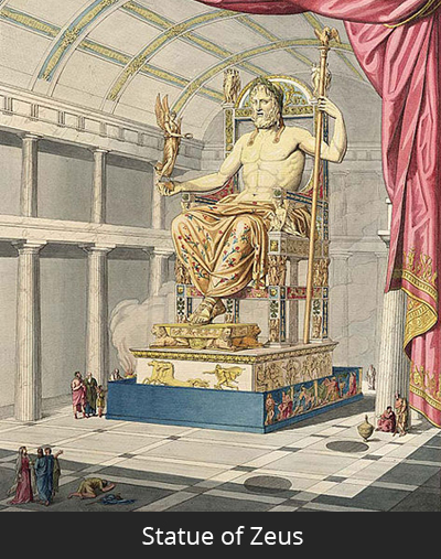 Fun Facts For Kids About Statue Of Zeus At Olympia