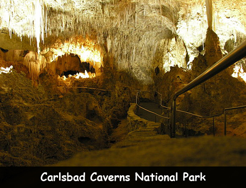 carlsbad caverns national park facts for kids
