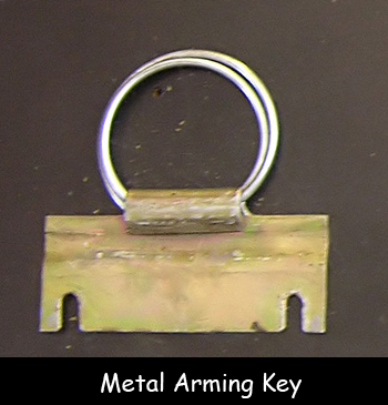 Metal Arming Key