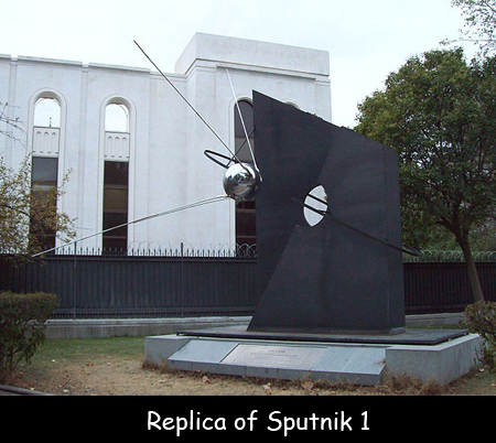 Replica of Sputnik 1
